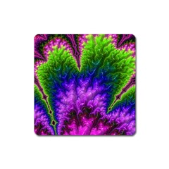 Amazing Special Fractal 25c Square Magnet by Fractalworld