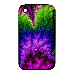 Amazing Special Fractal 25c Apple Iphone 3g/3gs Hardshell Case (pc+silicone) by Fractalworld