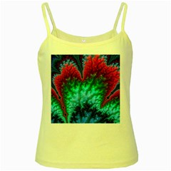 Amazing Special Fractal 25b Yellow Spaghetti Tank