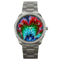 Amazing Special Fractal 25b Sport Metal Watch by Fractalworld