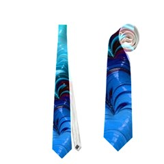 Amazing Special Fractal 25b Neckties (two Side)