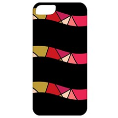 Abstract Waves Apple Iphone 5 Classic Hardshell Case by Valentinaart