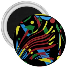 Optimistic Abstraction 3  Magnets by Valentinaart