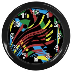 Optimistic Abstraction Wall Clocks (black) by Valentinaart