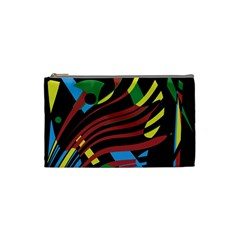 Optimistic Abstraction Cosmetic Bag (small)  by Valentinaart