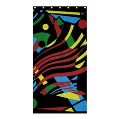 Optimistic abstraction Shower Curtain 36  x 72  (Stall)