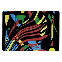Optimistic Abstraction Samsung Galaxy Tab 10 1  P7500 Flip Case by Valentinaart