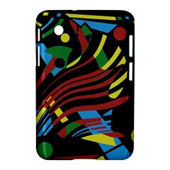 Optimistic Abstraction Samsung Galaxy Tab 2 (7 ) P3100 Hardshell Case  by Valentinaart