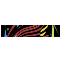 Optimistic Abstraction Flano Scarf (small) by Valentinaart