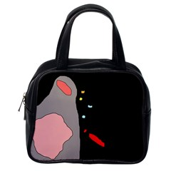 Crazy Abstraction Classic Handbags (one Side)