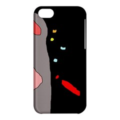 Crazy Abstraction Apple Iphone 5c Hardshell Case by Valentinaart