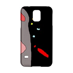 Crazy Abstraction Samsung Galaxy S5 Hardshell Case  by Valentinaart