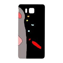 Crazy Abstraction Samsung Galaxy Alpha Hardshell Back Case by Valentinaart