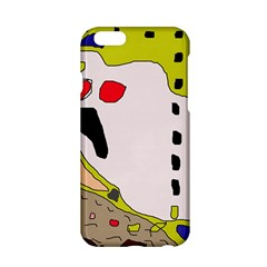 Yellow Abstraction Apple Iphone 6/6s Hardshell Case by Valentinaart