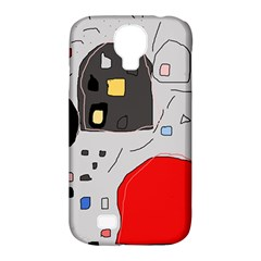 Playful Abstraction Samsung Galaxy S4 Classic Hardshell Case (pc+silicone) by Valentinaart
