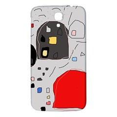 Playful Abstraction Samsung Galaxy Mega I9200 Hardshell Back Case by Valentinaart