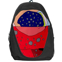 Playful Abstraction Backpack Bag by Valentinaart