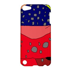 Playful Abstraction Apple Ipod Touch 5 Hardshell Case by Valentinaart