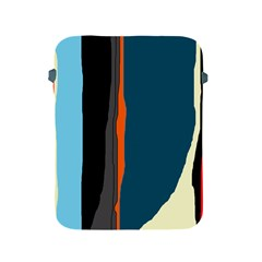 Colorful Lines  Apple Ipad 2/3/4 Protective Soft Cases by Valentinaart