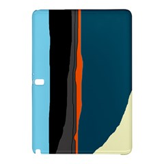 Colorful lines  Samsung Galaxy Tab Pro 10.1 Hardshell Case by Valentinaart