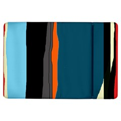 Colorful lines  iPad Air Flip by Valentinaart