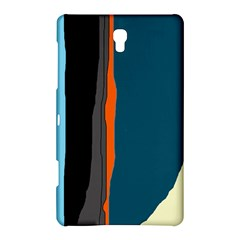 Colorful Lines  Samsung Galaxy Tab S (8 4 ) Hardshell Case  by Valentinaart