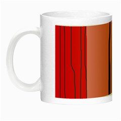 Decorative Lines Night Luminous Mugs by Valentinaart