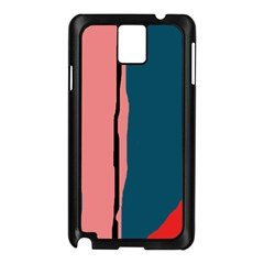Decorative Lines Samsung Galaxy Note 3 N9005 Case (black) by Valentinaart