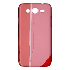 Red And Pink Lines Samsung Galaxy Mega 5 8 I9152 Hardshell Case  by Valentinaart