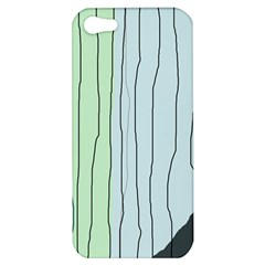 Decorative Lines Apple Iphone 5 Hardshell Case by Valentinaart
