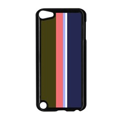 Decorative Lines Apple Ipod Touch 5 Case (black) by Valentinaart