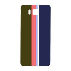 Decorative Lines Samsung Galaxy Alpha Hardshell Back Case by Valentinaart