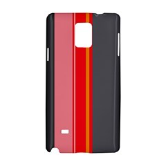Optimistic Lines Samsung Galaxy Note 4 Hardshell Case by Valentinaart