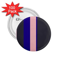 Purple, Pink And Gray Lines 2 25  Buttons (100 Pack)