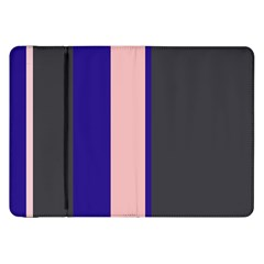 Purple, Pink And Gray Lines Samsung Galaxy Tab 8 9  P7300 Flip Case by Valentinaart