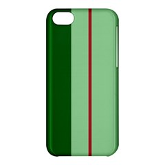 Green And Red Design Apple Iphone 5c Hardshell Case by Valentinaart