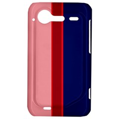 Pink and blue lines HTC Incredible S Hardshell Case