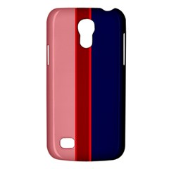 Pink And Blue Lines Galaxy S4 Mini by Valentinaart