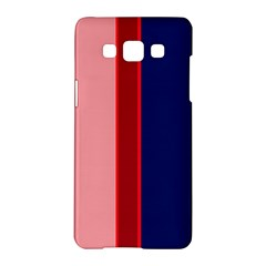 Pink And Blue Lines Samsung Galaxy A5 Hardshell Case  by Valentinaart