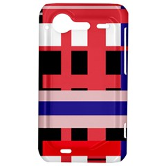 Red abstraction HTC Incredible S Hardshell Case