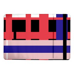 Red Abstraction Samsung Galaxy Tab Pro 10 1  Flip Case by Valentinaart