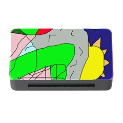 Crazy Abstraction Memory Card Reader With Cf by Valentinaart
