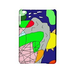 Crazy Abstraction Ipad Mini 2 Hardshell Cases by Valentinaart