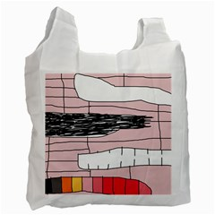 Worms Recycle Bag (one Side) by Valentinaart