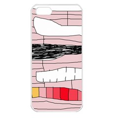 Worms Apple Iphone 5 Seamless Case (white) by Valentinaart