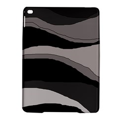 Black And Gray Design Ipad Air 2 Hardshell Cases by Valentinaart