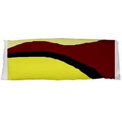 Decorative Abstract Design Body Pillow Case (dakimakura) by Valentinaart