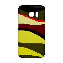 Decorative Abstract Design Galaxy S6 Edge by Valentinaart