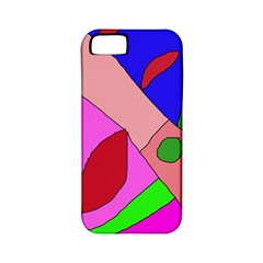 Pink Abstraction Apple Iphone 5 Classic Hardshell Case (pc+silicone) by Valentinaart