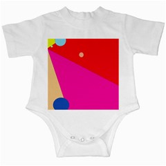 Colorful Abstraction Infant Creepers by Valentinaart